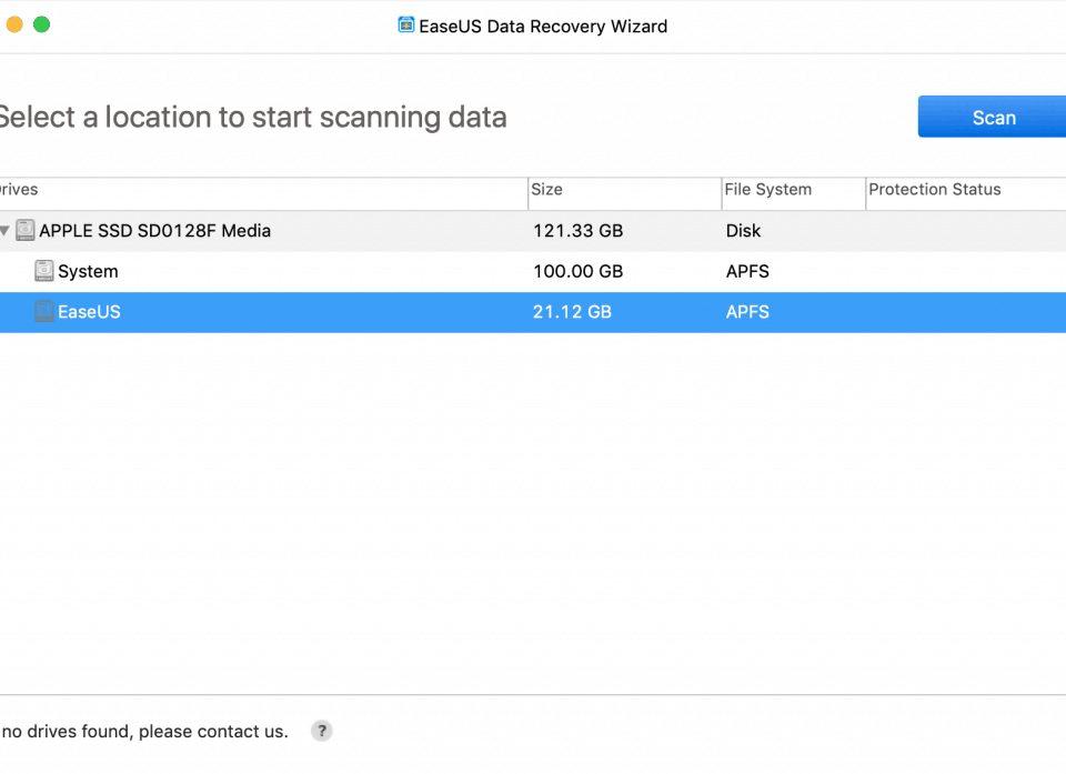 Select 960x697 - Las 5 mejores maneras de recuperar datos borrados en Mac en 2019